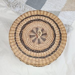 Vintage Accents - Large Vintage woven basket